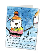 Childrens personalised Christmas Cards - Kids Cards 4 Christmas ...